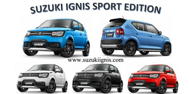 Suzuki iGnis Sport Edition all colour 087888111911 1 660x330 - Harga Kredit Suzuki IGNIS Sport Edition