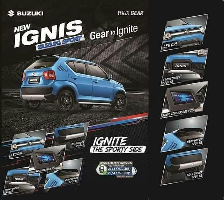 brosur spekfikasi suzuki ignis - Harga Kredit Suzuki IGNIS Sport Edition