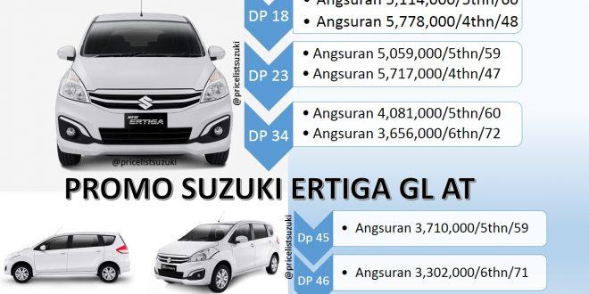 Harga Kredit Suzuki Ertiga GL Otomatis tahun 2018 Angsuran dan cicilan nya 660x330 - Harga Suzuki Ertiga GL Otomatis Tahun 2018 Promo Kredit