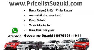Suku Bunga 361 BCa finance 310x165 - Pricelist Suzuki Mobil Febuari 2018