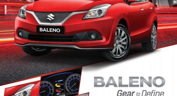 Suzuki Baleno Hatchback Gear to Define 605x330 - Harga Suzuki Baleno 2018 & Paket Kredit Cicilan