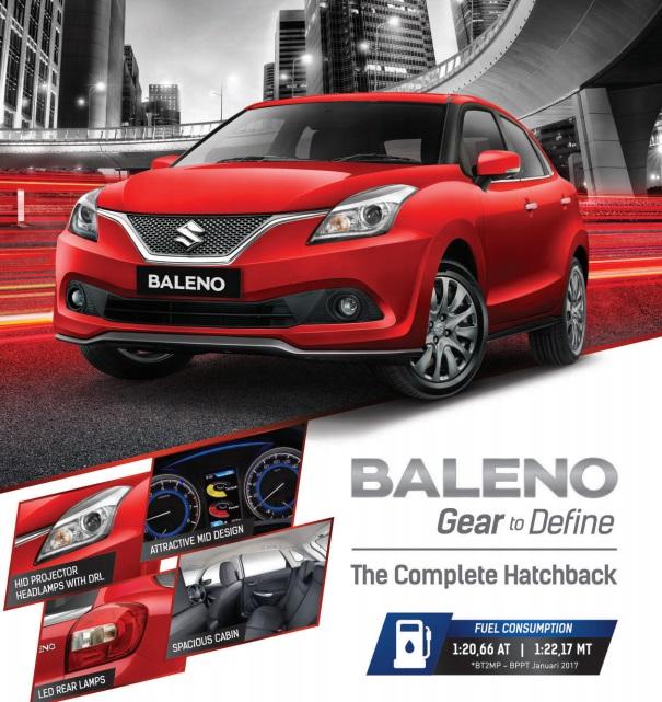 Suzuki Baleno Hatchback Gear to Define - Harga Suzuki Baleno 2018 & Paket Kredit Cicilan