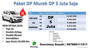 Promo Ertiga Dp 5 Juta Suzuki Ertiga GL Manual 2018 Geo Murah 310x165 - Ertiga Dp 4 Juta Promo 2018