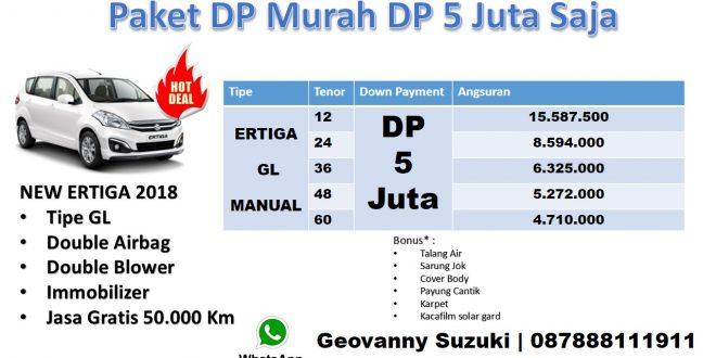 Promo Ertiga Dp 5 Juta Suzuki Ertiga GL Manual 2018 Geo Murah 660x330 - Ertiga Dp 4 Juta Promo 2018