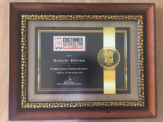 Suzuki Ertiga The Highest Customer Satisfication Index Overall  - Suzuki Ertiga Mobil Paling Memuaskan Konsumen