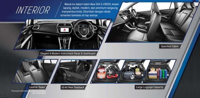 interior Suzuki Sx4 2018 - Harga Kredit Suzuki Sx4 S-Cross 2018