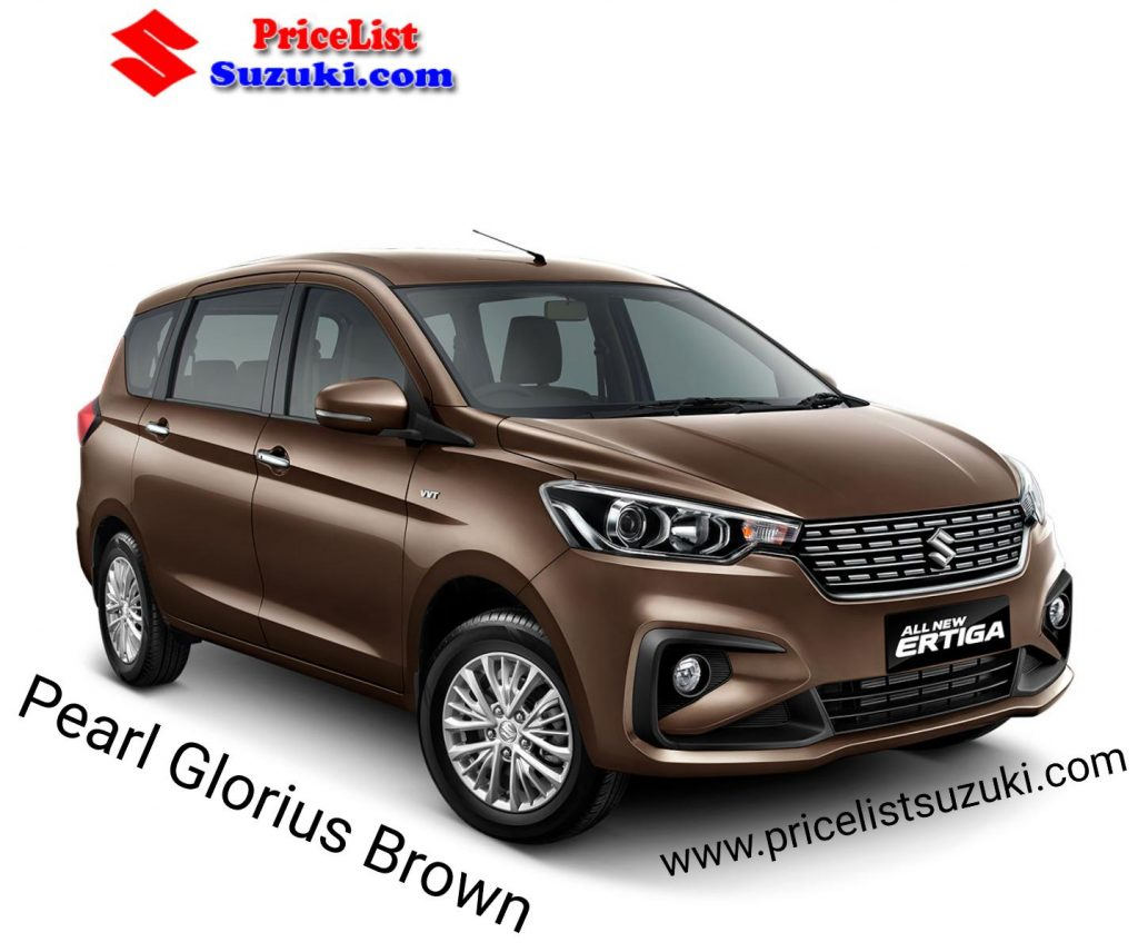 Suzuki Ertiga Warna Pear glorius brown ( coklat )