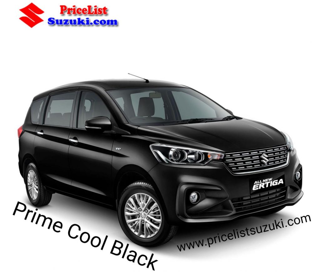 Suzuki Ertiga Warna Hitam prime cool black