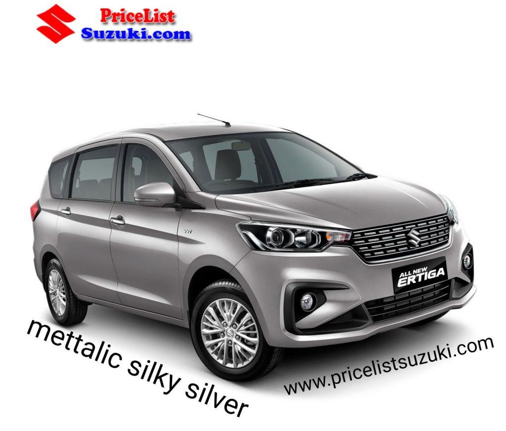 Mettalic silky silver warna Suzuki Ertiga Urban Mpv