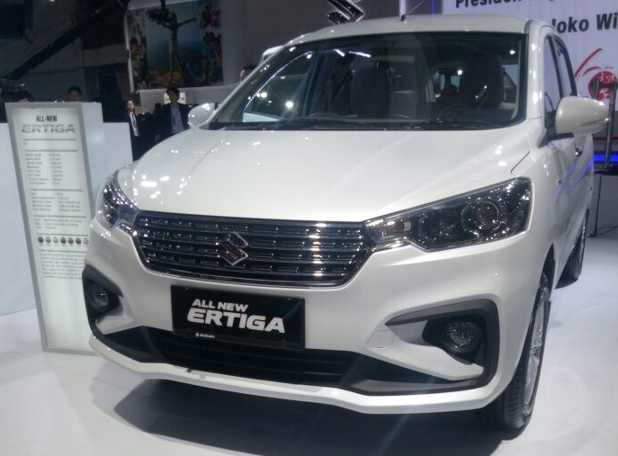 Warna Suzuki All New Ertiga Snow White pearl
