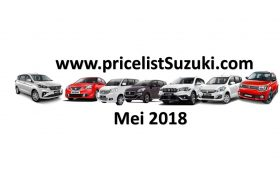 Harga Suzuki Mobil Mei 2018 280x190 - Harga Suzuki Mobil Bulan Mei 2018