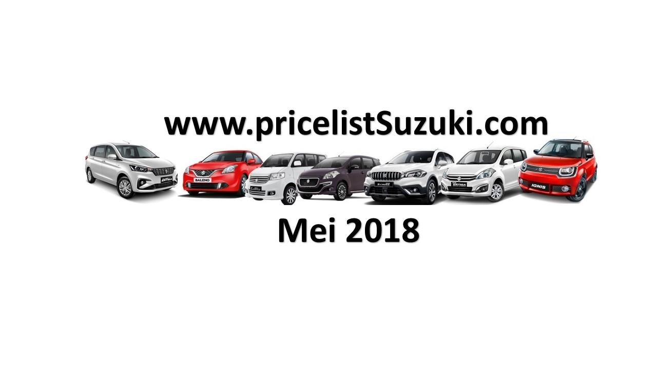 Harga Suzuki Mobil Mei 2018 - Harga Resmi Mobil Suzuki All New Ertiga 2018