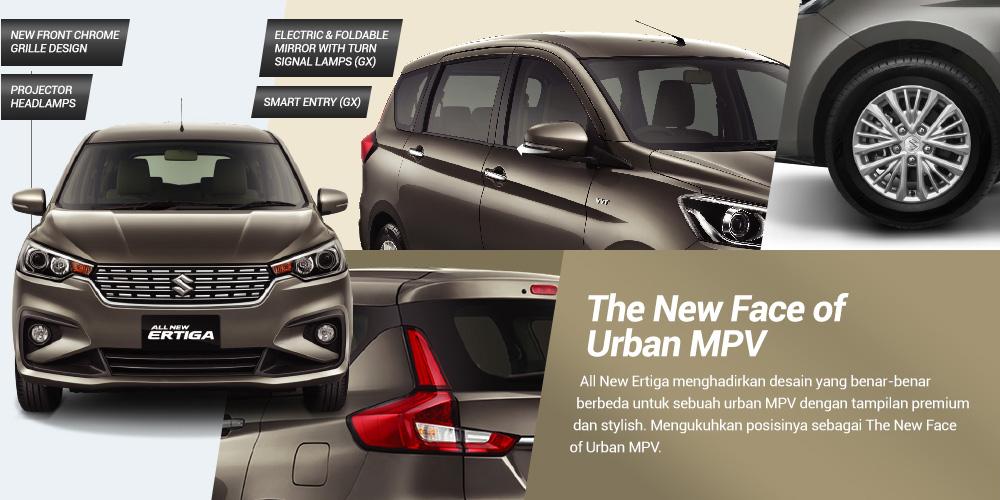 all new ertiga exterior1 - Suzuki Ertiga The Urban Mpv