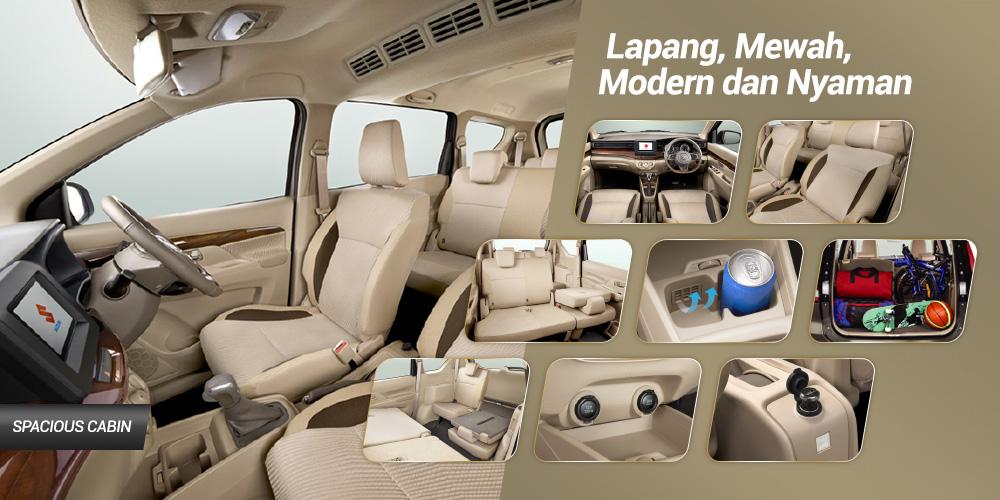 all new ertiga interior2 1 - Suzuki Ertiga The Urban Mpv