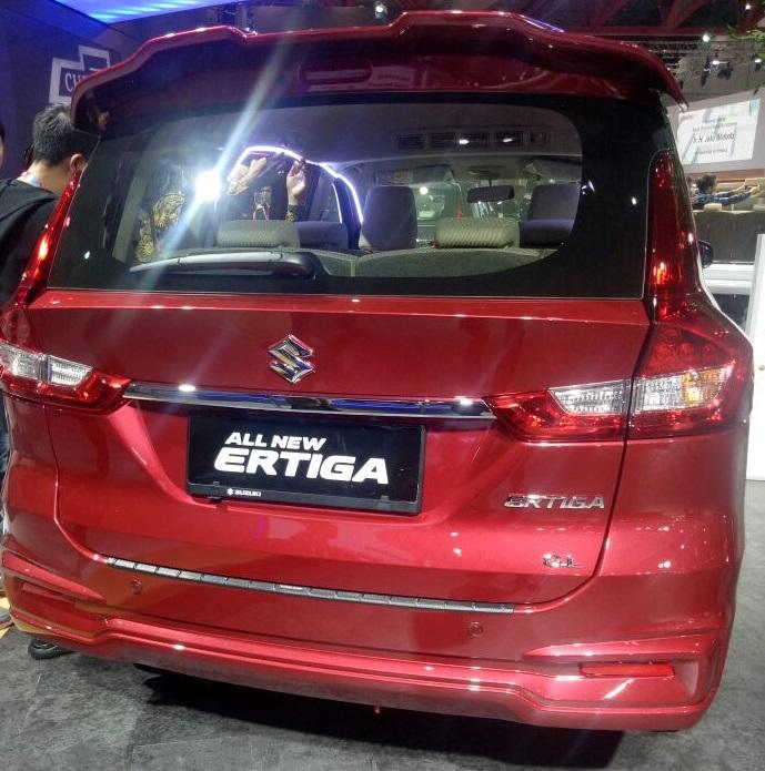 all new ertiga merah - 7 Warna Suzuki Ertiga 2018 Terbaru Urban Mpv