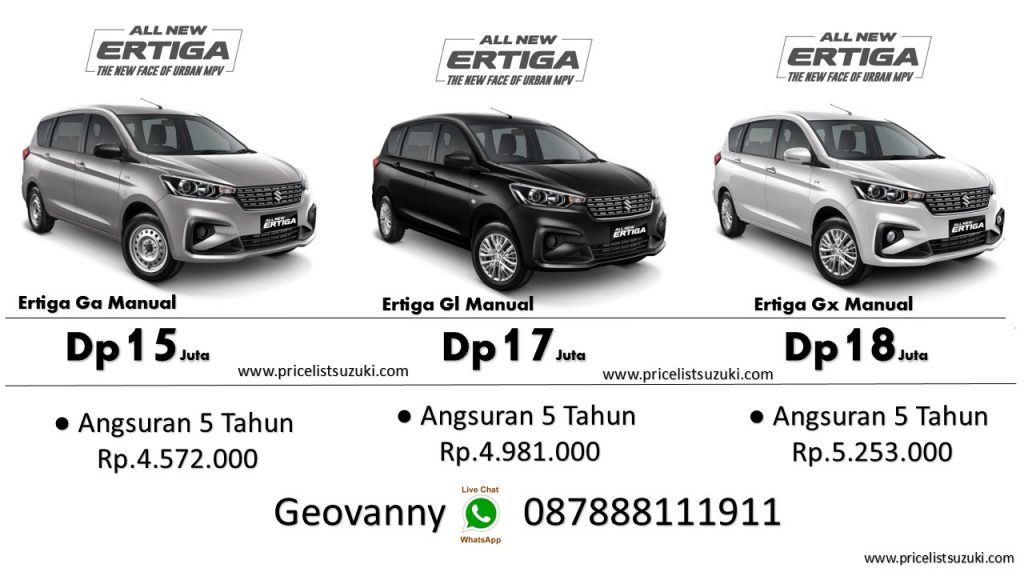 Promo Dp ringan All New Ertiga Manual 1024x576 - Promo Suzuki Di GIIAS 2018
