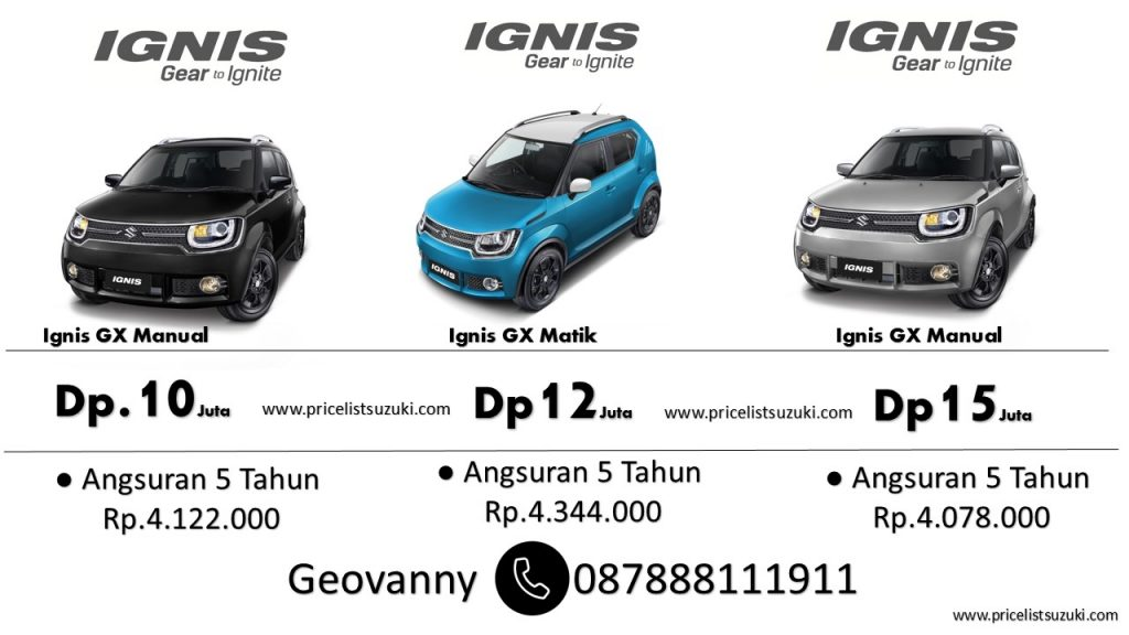 Suzuki Ignis Tipe GX Dp Ringan 1024x576 - Suzuki Mobil Giias 2018 Special Bonus