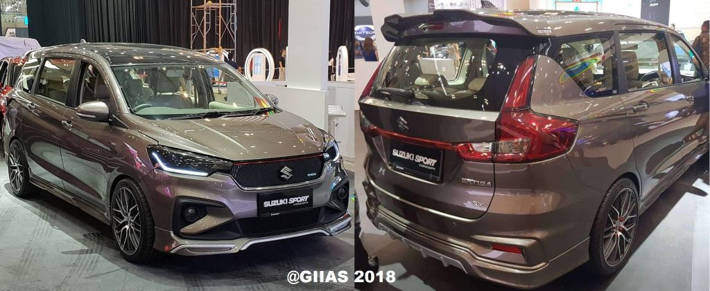 FOTO Suzuki All New Ertiga 2018 Di GIIAS ICE BSD