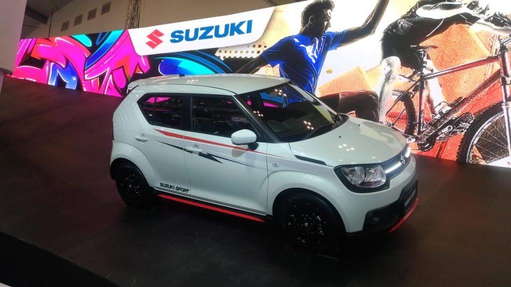Suzuki IGNIS SPORT RALLY LOOK PUTIH di GIIAS 2018 1024x576 - Suzuki Mobil Giias 2018 Special Bonus