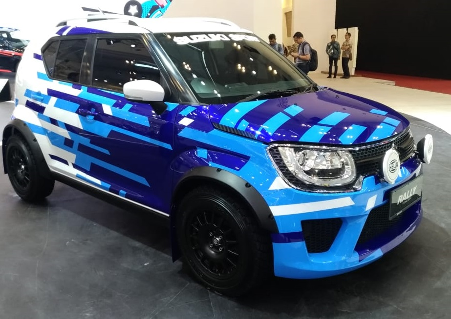 Suzuki IGNIS SPORT RALLY LOOK di GIIAS 2018