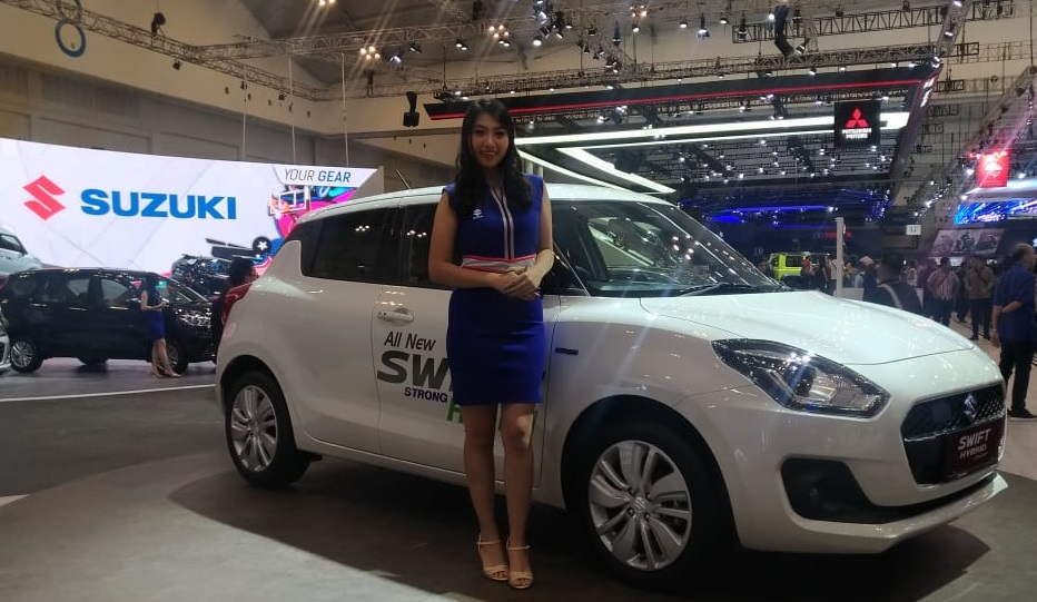 All New Swift Hybrid terbaru di GIIAS 2018
