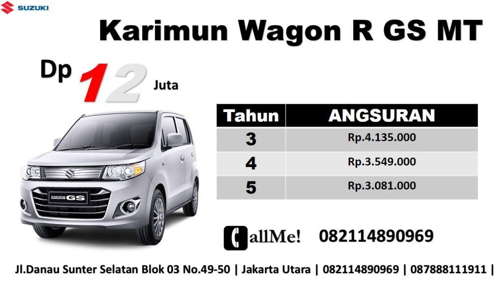 Harga Suzuki Wagon R Dp 12 Juta Di Kredit Murah