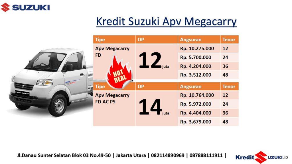 Kredit Suzuki Apv Megacarry Dp Murah Angsuran Murah