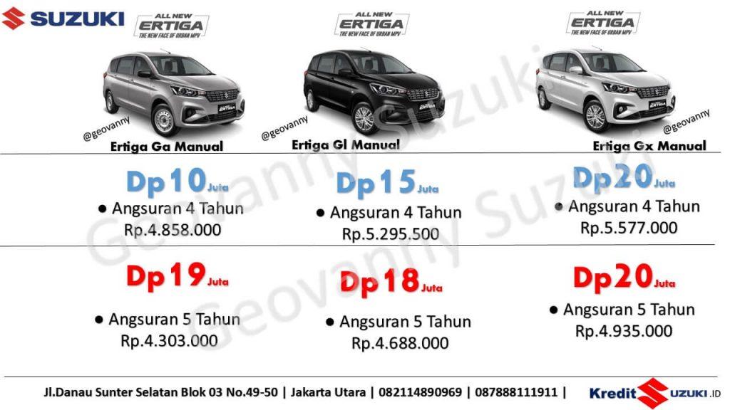 promo kredit Suzuki All New Ertiga Harga Murah Dp Ringan