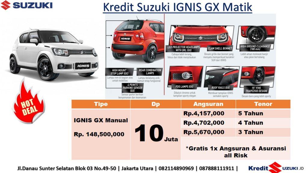 Kredit Suzuki Ignis Matik Dp 10 Juta Murah Imfi November 2018 1024x576 - Harga Suzuki Promo Bulan November 2018