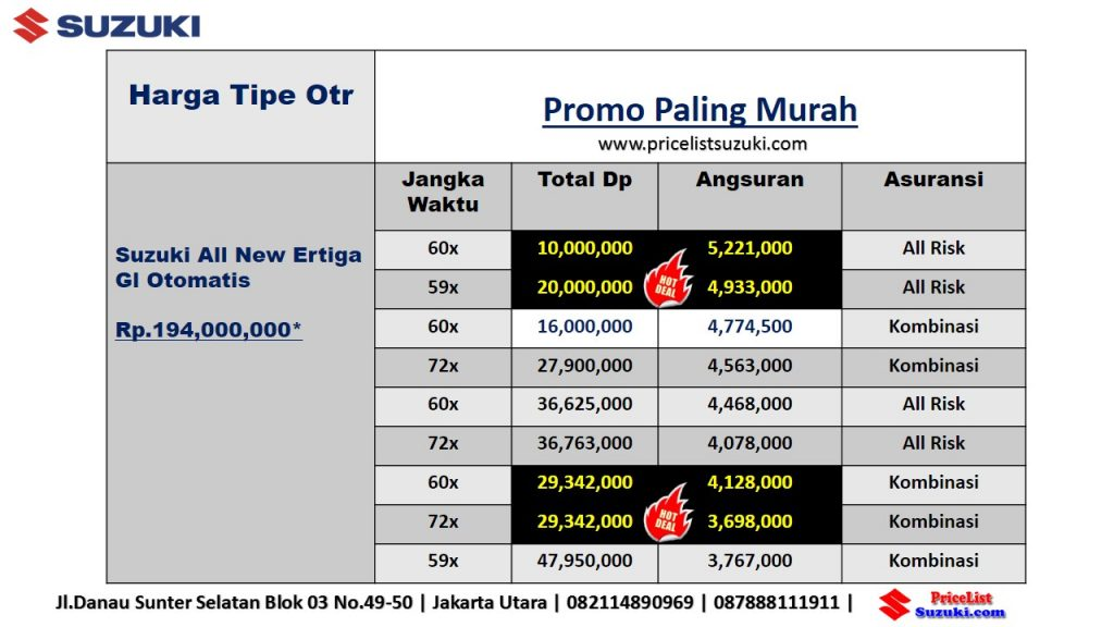 Promo Suzuki Ertiga Gl Matik November 2018 Geovanny Sales Suzuki Jakarta 1024x576 - Harga Suzuki Promo Bulan November 2018