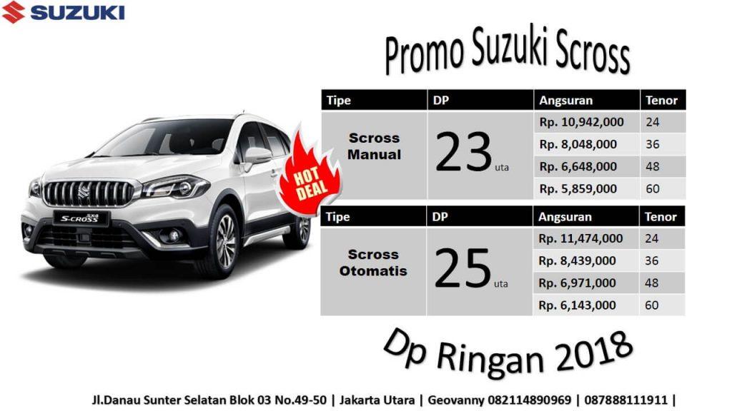 Promo Suzuki Oktober tipe Sx4 Scross 2018 Kredit Murah November 2018 1024x576 - Harga Suzuki Promo Bulan November 2018