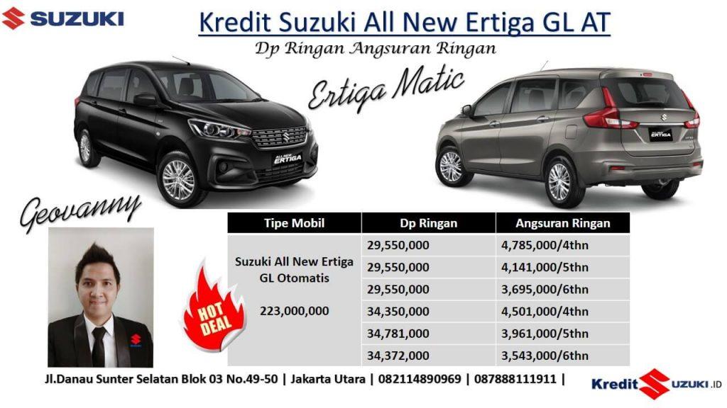 Kredit Suzuki Ertiga gL AT Automatik matik Desember 2018 Dp murah 1024x576 - Promo Suzuki All New Ertiga Akhir Tahun 2018