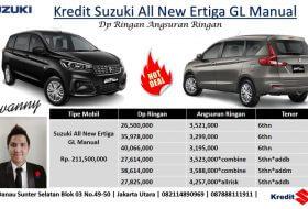 Kredit Suzuki Harga Dp RIngan Angsuran RIngan Ertiga All New Tipe GL Manual 2018 280x190 - Paket Kredit All New Ertiga 2019