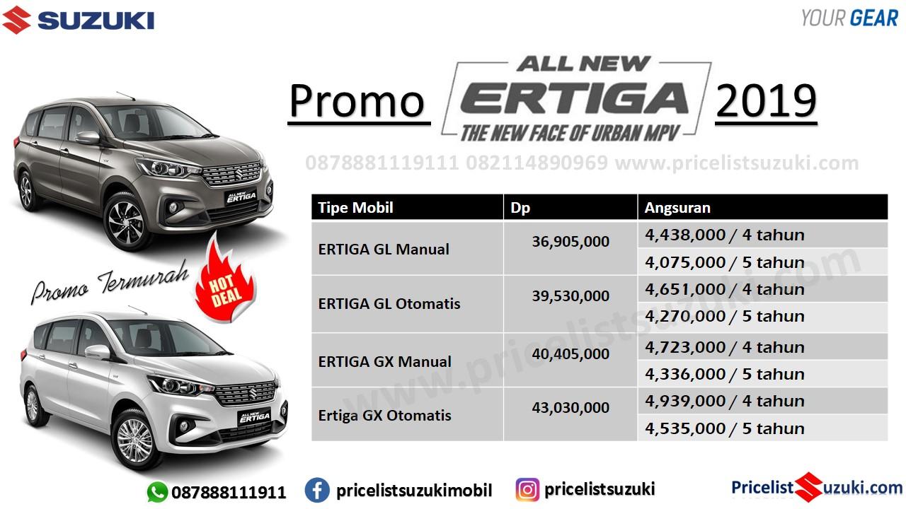 Promo Suzuki All New Ertiga Bungan Ringan Cicilan Ringan 13 Maret 2019 - Harga,Fitur & Spekfikasi Suzuki All New Ertiga 2019