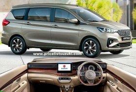 Suzuki All New Ertiga 2019 Interior Exterior Pelek Baru 280x190 - Harga,Fitur & Spekfikasi Suzuki All New Ertiga 2019