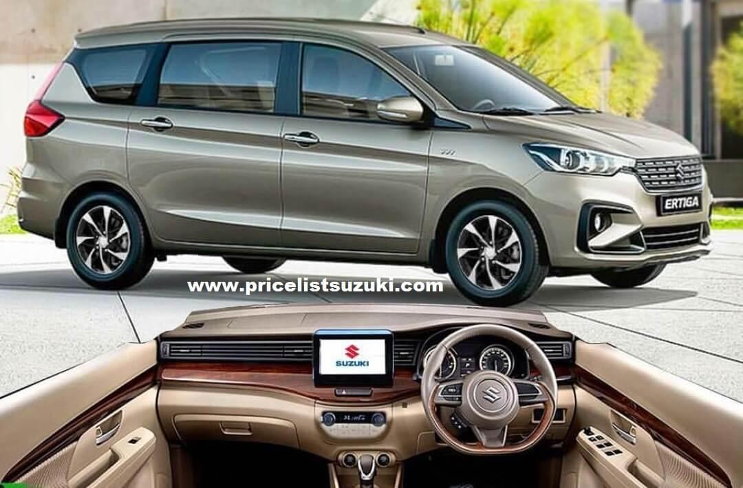 Suzuki All New Ertiga 2019 Interior Exterior Pelek Baru - Harga,Fitur & Spekfikasi Suzuki All New Ertiga 2019