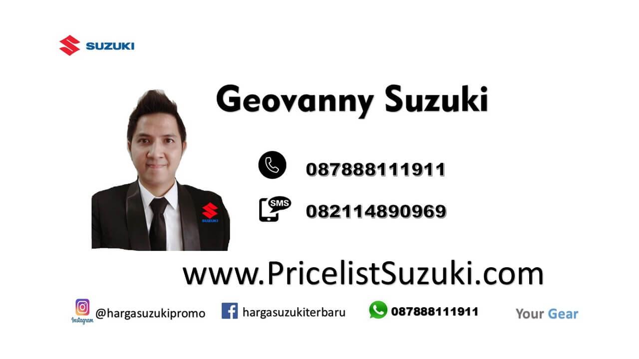 geovanny Sales mobil Suzuki Di Jakarta Bekasi Tangerang Depok Promo Dp Murah Suzuki 2019 - Pesan Mobil Suzuki