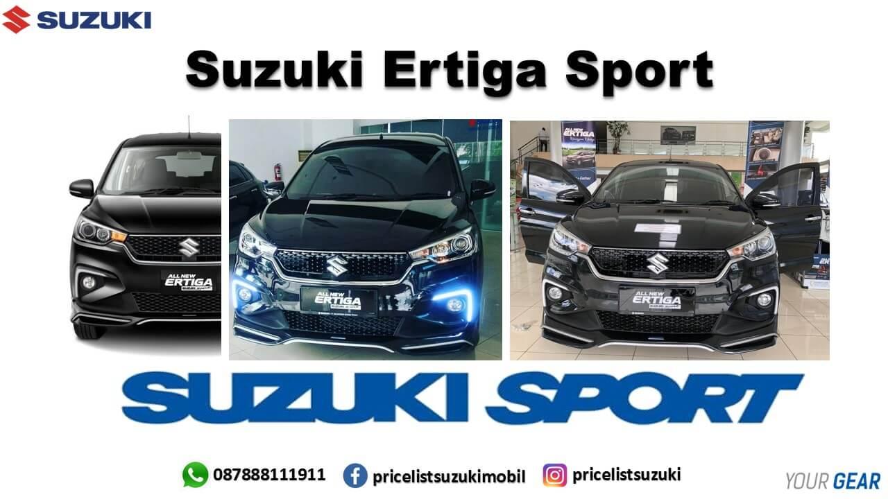 Suzuki Ertiga Sport Hitam dengan lampu DRL 2019 sales geovanny 087888111911 - 3 Warna Suzuki All New Ertiga Sport
