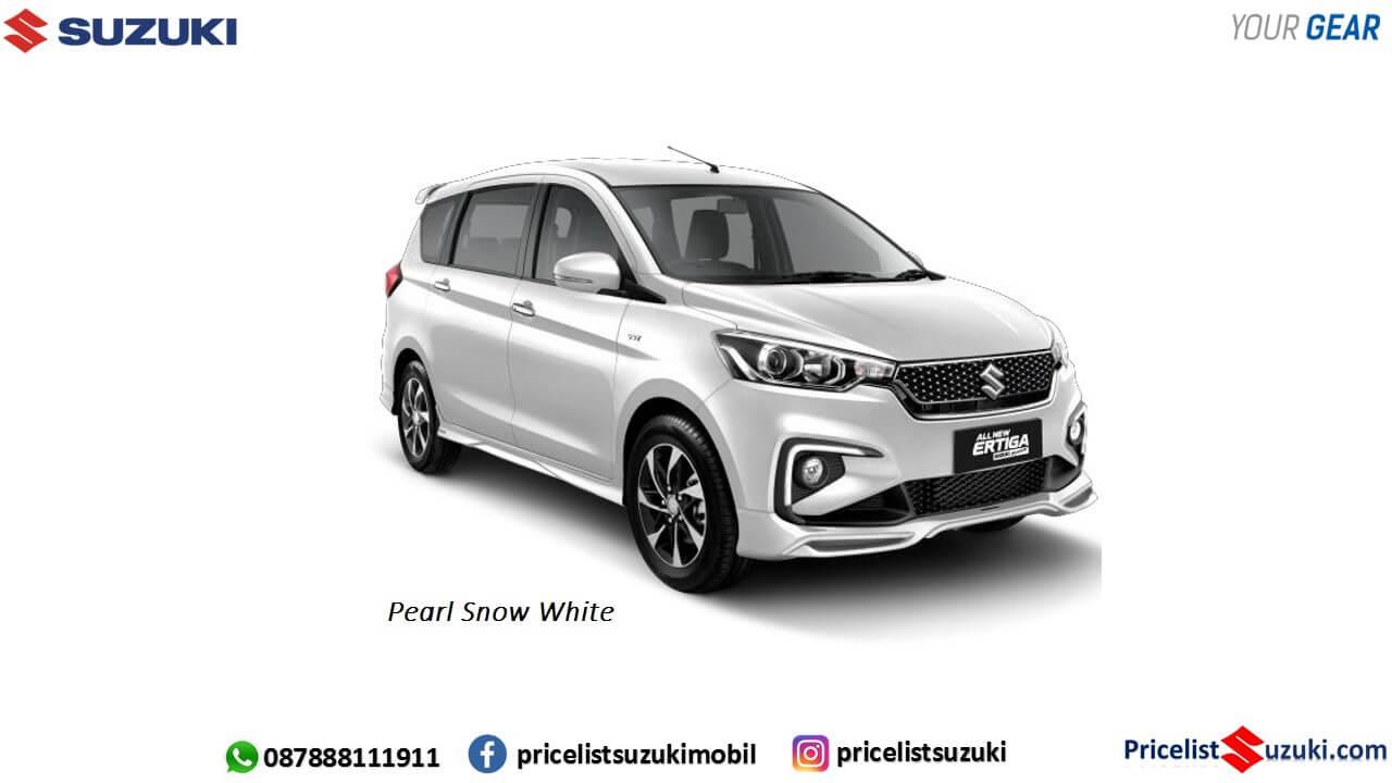 Warna Ertiga SPort Putih 2019 Terbaru - Fitur,Harga Ertiga Suzuki Sport 2019