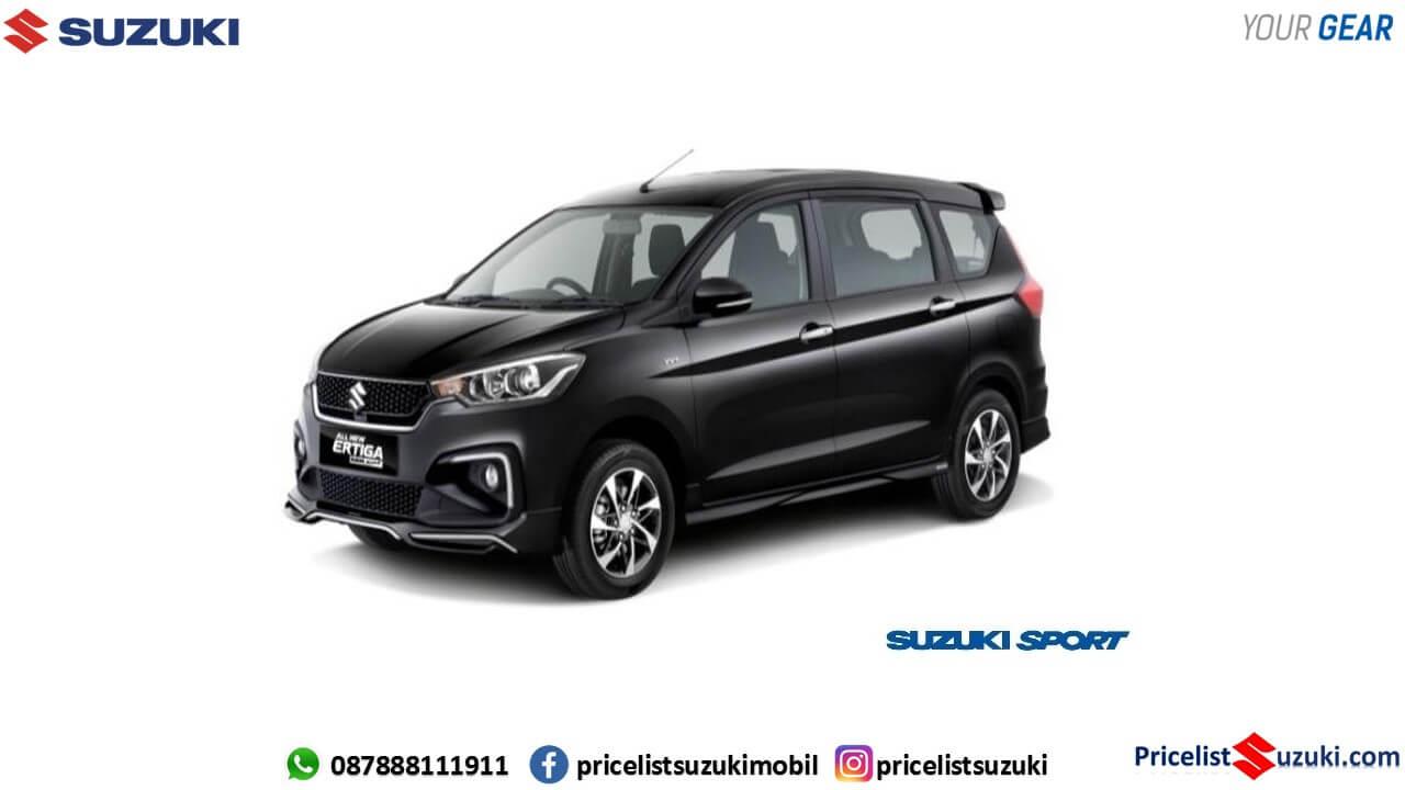 Warna hitam Ertiga Sport 2019 prime cool black pricelist suzuki - Fitur,Harga Ertiga Suzuki Sport 2019