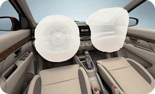 double srs airbag suzuki all new ertiga 2019 - Keamanan Suzuki All New Ertiga 2019