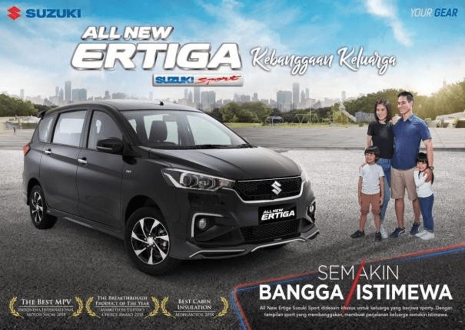 flyer ertiga sport - Suzuki All New Ertiga Car Of The Year 2019