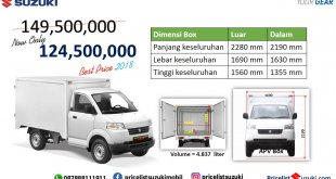 pricelist Suzuki Apv Box 2018 Harga khusus 310x165 - Apv Box 2018 Harga Murah Cocok Untuk Usaha