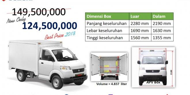 pricelist Suzuki Apv Box 2018 Harga khusus 660x330 - Apv Box 2018 Harga Murah Cocok Untuk Usaha