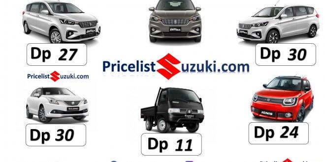 pricelist suzuki dot com promo ertiga baleno pick up terbaru 2019 660x330 - Promo Kredit Suzuki Mobil 2019