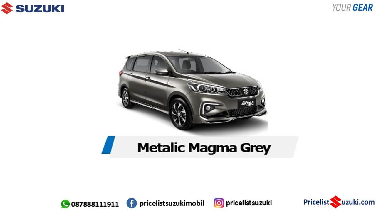 warna Metalic magma grey ertiga sport 2019 - Fitur,Harga Ertiga Suzuki Sport 2019