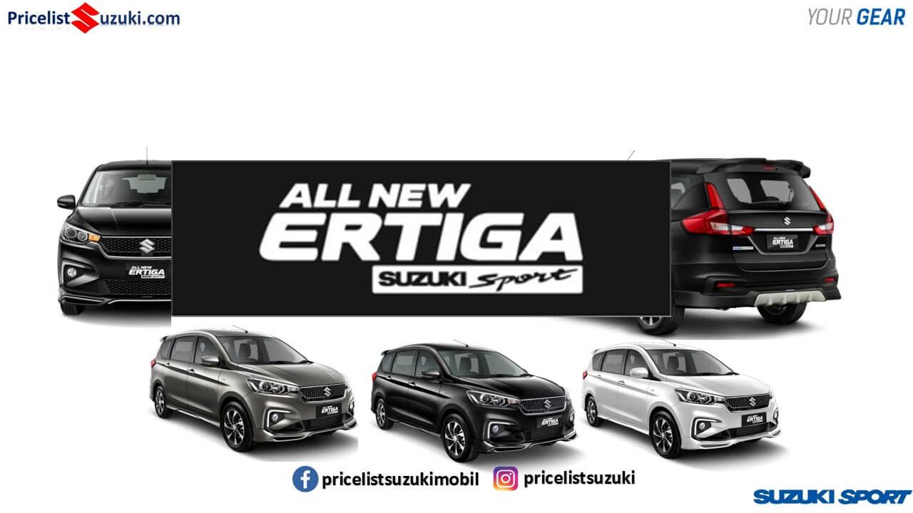 ERTIGA SPORT PRICELIST SUZUKI MOBIL MEI 2019 - Promo Suzuki Irfan Tama Mei 2019