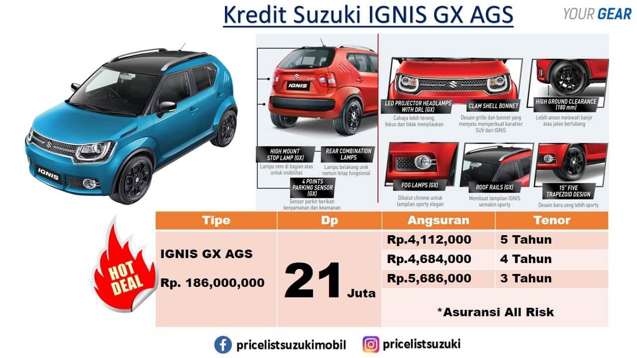 IGNIS GX MATIK AGS PROMO DP MURAH MEI 2019 - Promo Suzuki Irfan Tama Mei 2019