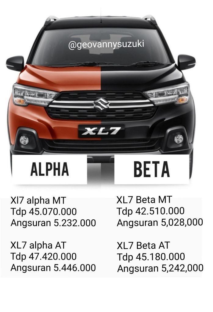 Promo Suzuki XL7 ALPHA BETA DP RINGAN MEI 2020